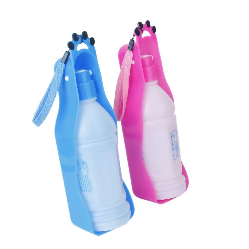 5Set Sale 350 ml Plastic Travel Bottle for Pet Dog