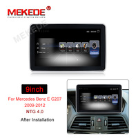 MEKEDE Android 7.1 4G LTE car multimedia player Car DVD for Benz E class Coupe W207 C207 A207 2009 2016 GPS radio 3G RAM 32G ROM