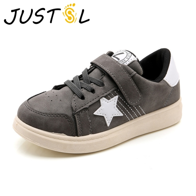 free shipping 539fd 2d890 JUSTSL-2018-new-children-s-fashion-sneakers-boys-sports-shoes -breathable-girls-casual-shoes-teenage-running.jpg 640x640.jpg