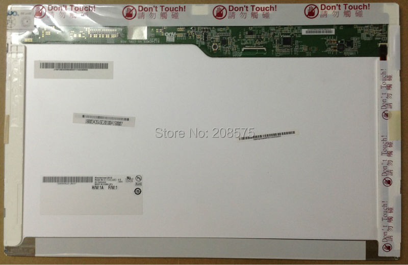 Free Shipping Brand New Grade A+LCD laptop screen 15.4 inch B154EW09 V.0 N154I6-L05 LTN154AT11 for Lenovo SL500 T500 G530 dhl free shipping lcd screen lp156wh4 brand new a for dell for lg for lenovo for samsung laptop