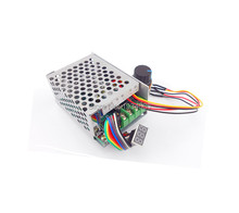 Цифровой дисплей контроллер скорости двигателя постоянного тока PWM 0 100% PLC, модуль переключателя регулятора управления Max30A 6V 60V 6V 9V 12V 24V 36V 48V 60V