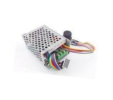 Pantalla Digital controlador de velocidad del motor de CC PWM 0 100% PLC Control interruptor regulador para Max30A 6 V 60 V 6V 9V 12V 24V 36V 48V 60V