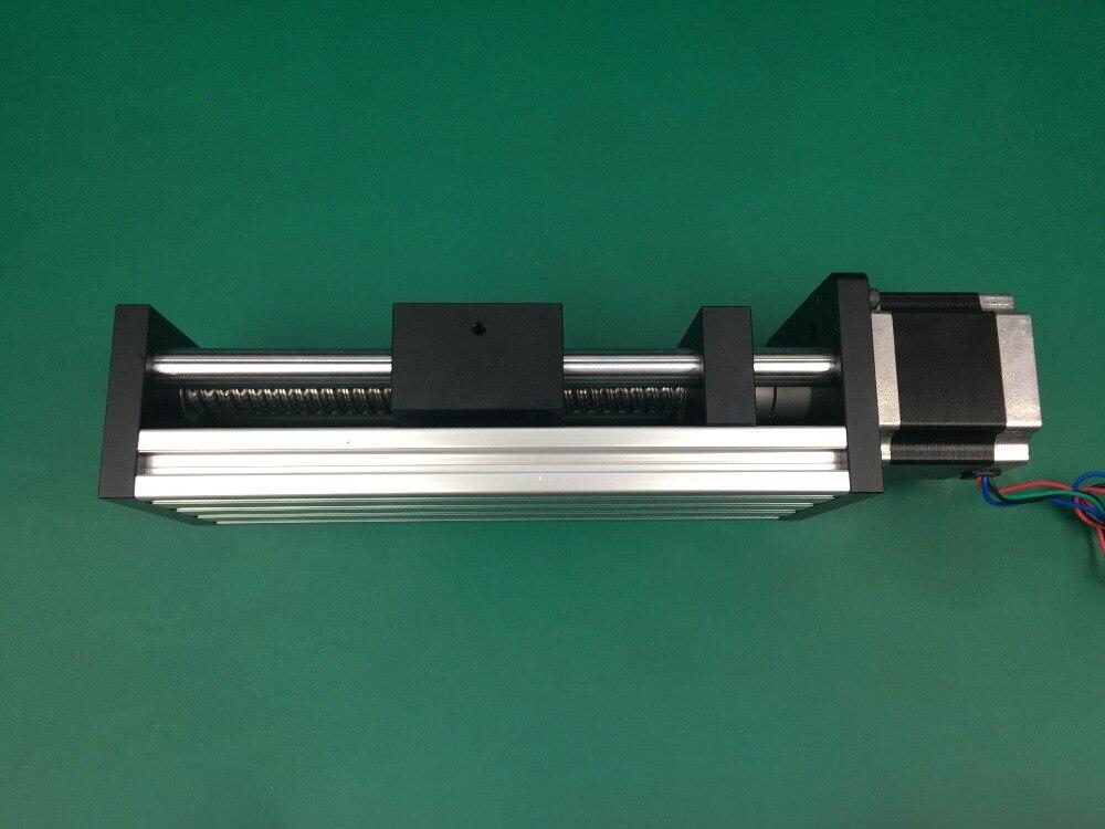 Best Price GGP 100MM Ball Screw 1204 1605 1610 Slide Rail Linear Guide Moving Table Slip-way+Nema23 motor 57 Stepper Motor
