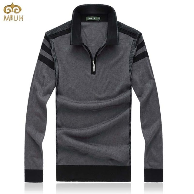 Super Large Size Wool Solid Sweater Men 8XL 7XL Brand Clothing Turn Down Collar Sweaters 2Color Red Gray Pullover Men 2017 New