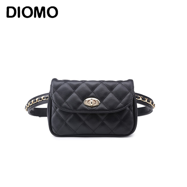 5295386d3136 US $14.65 37% OFF DIOMO Women Fashion Waist Bag Mobile Cell Phone Bags for  Girls Belt Bag Female Waist Pack heuptas-in Waist Packs from Luggage & Bags  ...