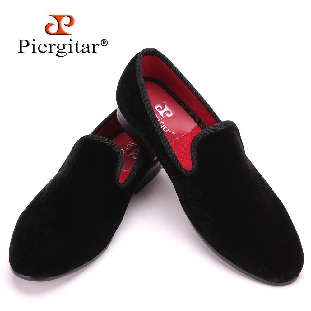 Ayakk.'ten Resmi Ayakkabılar'de Sıcak Satış Artı Boyutu ve Renkli Erkekler Kadife Loafer'lar Erkekler Düğün ve parti ayakkabıları erkek Flats Erkek Sigara terlik Boyutu ABD 4 17'da  Grup 1
