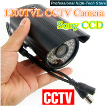 Best price 1200TVL Waterproof Security camera HD Outdoor CCTV Camera IR Sony CCD 36 IR LEDs