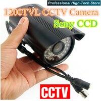 Beste preis 1200TVL Wasserdichte überwachungskamera HD Freien Cctv kamera IR Sony CCD 36 IR LEDs-in Überwachungskameras aus Sicherheit und Schutz bei