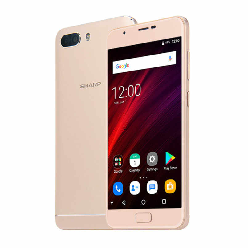 Global Version SHARP R1S FS8028 Smartphone 5 5'' HD IPS 2 5D Curved MTK6750  Octa Core 3GB RAM 32GB ROM 5000mAh 4G LTE Celphone