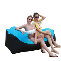 2019 New Fast Inflatable lazy bag sleeping bag Waterproof air sofa bed Beach Sofa Lazy sofa portable folding Beach Bed Laybag