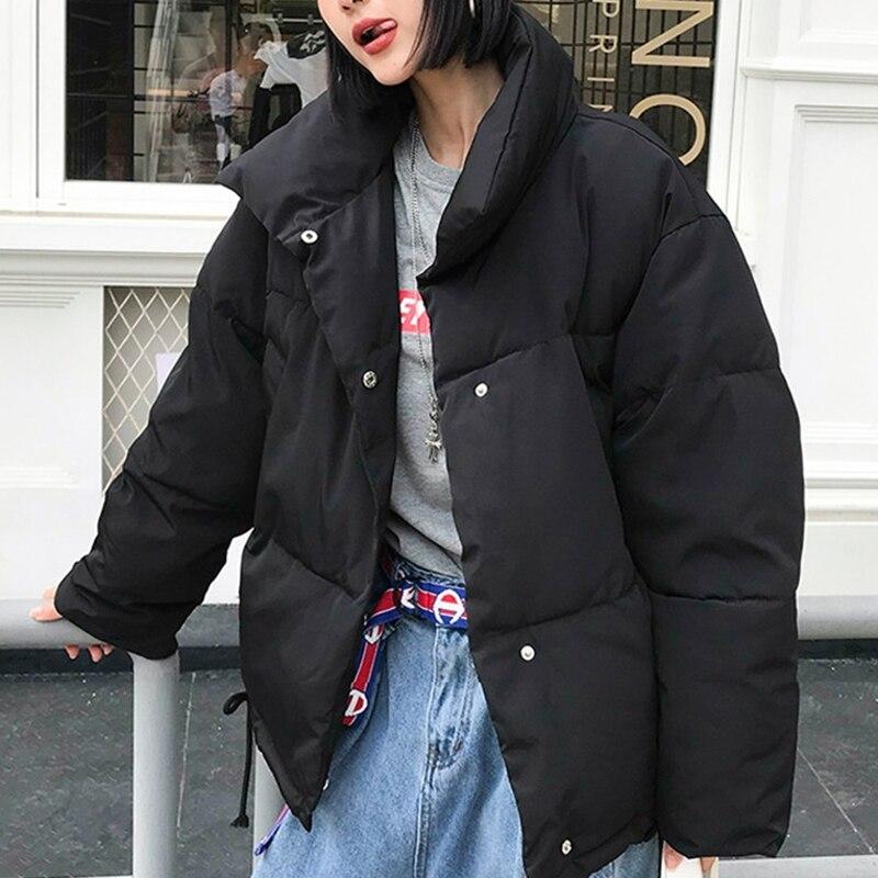 New Women Winter Coat Female Warm Down cotton jacket Women s Korean Bread service Wadded Jackets