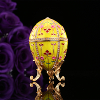 QIFU New arrive yellow faberge egg for gift