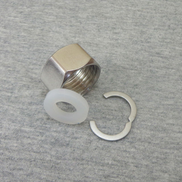 Стопорные кольца для гофрированной трубы