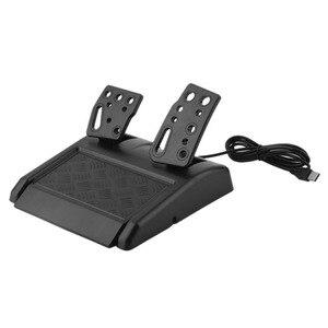 Image 5 - 180 درجة دوران الألعاب الاهتزاز سباق عجلة القيادة مع الدواسات ل XBOX 360 ل PS2 ل PS3 الكمبيوتر USB عجلة توجيه سيارة عجلة القيادة