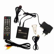 REDAMIGO HD 1080P Мини Автомобильный медиаплеер для автомобильного центра HDD U диск мультимедийный плеер с автомобильным зарядным устройством IR удлинитель HDMI AV SD/MMC