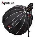 Aputure LS C120t + Свет Купола Комплект Студия Непрерывное освещение светодиодные Панели Фото TLCI/CRI 97 с Беспроводной дистанционного V-mount Plate