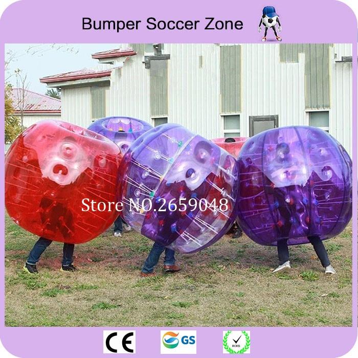 Precio más barato 1.5 m Burbuja inflable Balón de fútbol Bola de parachoques Bola Zorb Bola Loopy Bola de fútbol para juegos al aire libre
