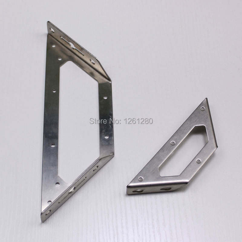 2 pieces 145mm L style hanger furniture fitting corner bulkhead bracket triangle hardware Shelf Bracket Wall Baffle Bracket2 pieces 145mm L style hanger furniture fitting corner bulkhead bracket triangle hardware Shelf Bracket Wall Baffle Bracket