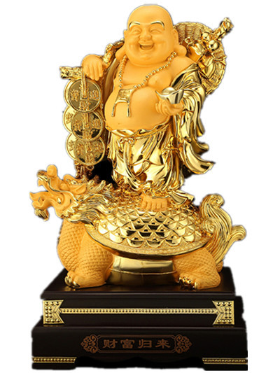 Maitreya Buddha Decoration Living Room Big Belly Laughing Buddha Office Decoration Housewarming Gift Sculpture