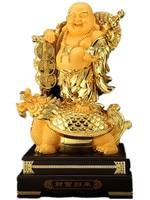 Maitreya Buddha decoration living room big belly laughing Buddha office decoration housewarming gift sculpture