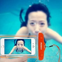 High Luminous Transparent Clear Surfing Swimming Waterproof Bag Cover Case For Iphone 4 4s 5 5s