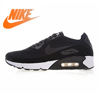 Original Authentic Nike Air Max 90 Ultra 2.0 Flyknit Men's Running Shoes Breathable Lightweight Non slip Outdoor Low top 875943