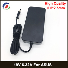 19V 6.32A 5.5*2.5mm 120W Laptop Adapter Notbook Power Supply For toshiba ACER Asus N550 K53 N750 N500 N56V N53S G50 N55 Charger