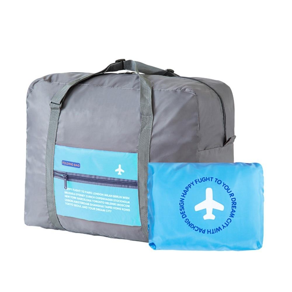 2018 Travel Bag WaterProof Packing Cubes Folding Luggage Bag Large Capacity Travel Hand Bag Nylon Unisex Travel Luggage Handbags