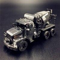ММЗ модель наньюань 3D Металл Модель комплект Бетономешалка Инженерная сборки модель DIY 3D лазерная резка Модель puzzle игрушки для взрослых