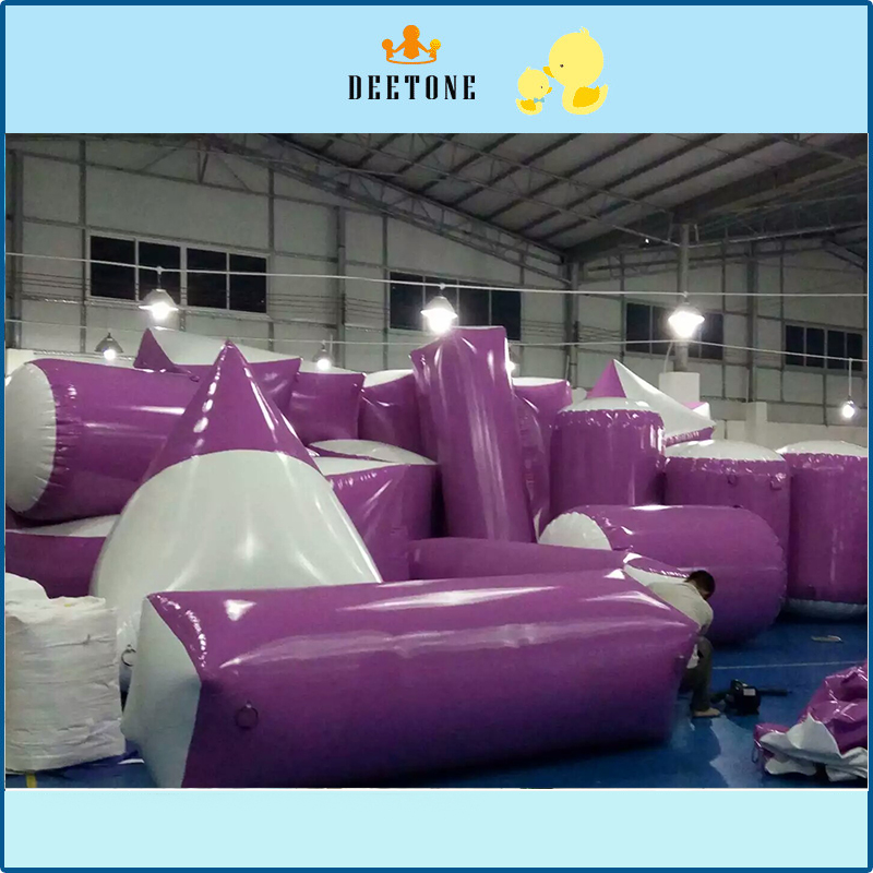 Newest design PVC Giant Custom floating pipe Inflatable Pool Float