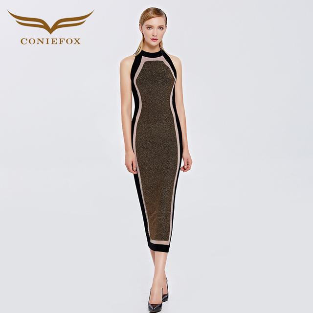Coniefox 38096 sem mangas fino vestidos de festa de formatura curto parágrafo formatura estilos vestido de robe de soirée vestidos de regresso a casa
