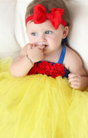 Snow White Baby Communion Dresses Baby Tutu Dress For Baby Girls Wedding Party Vestidos Toddler First