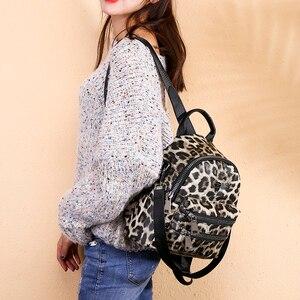 Image 5 - Wzór lamparta plecak torba dla kobiet 2020 Fashion School Book plecak dla nastolatka dziewczyna codzienny wypoczynek plecak podróżny Packbag