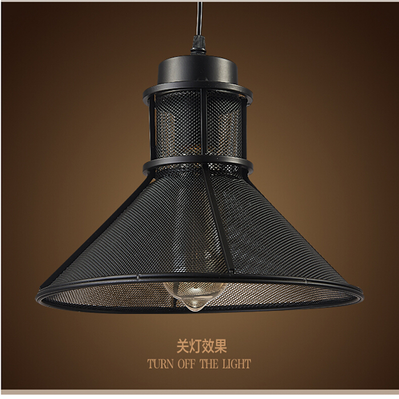Bar light Iron Art pendant light creative personality individual office restaurant industrial wind pendant lamp wl314500