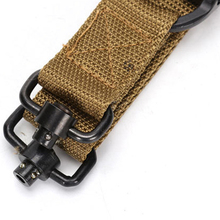 Single Point Gun Sling with Metal Hook