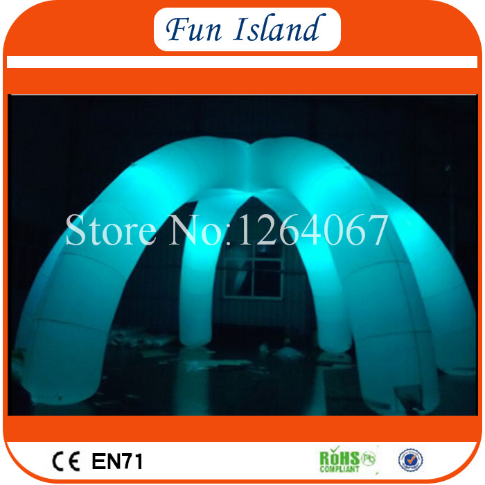 Free Shipping Lighting Large Inflatable Spider Tent For Party,Event Exhibition Rental