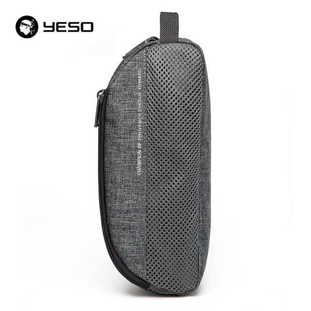 YESO Brands Wash Bag Cosmetic Bag 2017 New Fashion Travel Pouch Multifunction Waterproof Hanging Portable Polyester Makeup Bag
