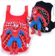 2017 Nuevo 3D Spiderman Niños Del Bolso de Escuela Niños Mochila Niños Bolsas Escuela de Dibujos Animados Mochilas Mochilas Escolar Infantil Del Niño Del Bebé