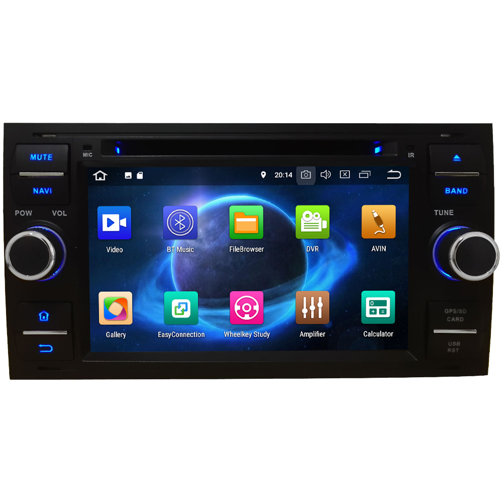 KLYDE Octa Core 4G WIFI Android 8.0 7.1 6.0 4GB RAM Car DVD Player Radio For Ford Transit Connect S-Max C-Max Focus Mondeo Kuga