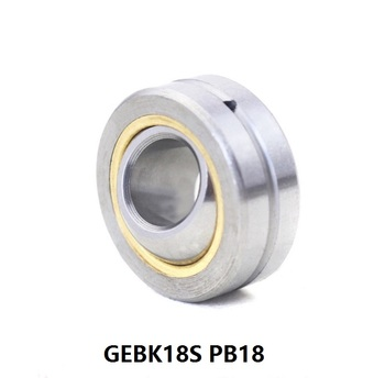 10pcs/lot GEBK18S PB18 Radial Spherical Plain Bearing With Self-lubrication for 18mm shaft