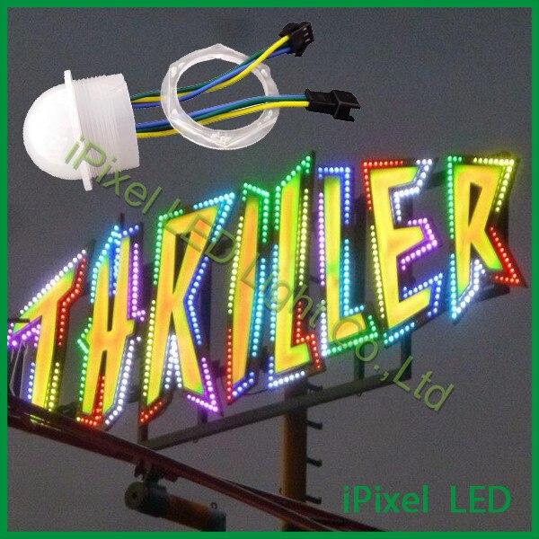 New coming <font><b>26mm</b></font> 3smd rgb pixel 5050 <font><b>led</b></font> point light <font><b>dc12v</b></font> .072w for amusement park