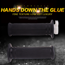22mm 1 set motorcycle high quality handle grip hand grips rubber gel sleeve handlebar grip for HONDA VFR400 NC30 NC35 vodool 2pcs rubber motorcycle grip 22mm motorcycle vintage handlebar grip for all motorcycle high quality cars styling