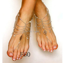 FREE SHIPPING 1PCS New Style L71 Women Tassel Foot Harness B