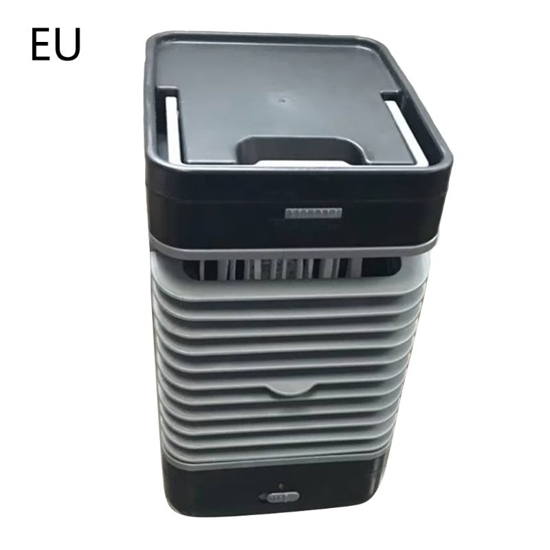 3 In 1 Mini USB Portable Air Conditioner Conditioning Humidifier Purifier Air Cooler Personal Space Cooling Fan For Office Home|Fans| |  - title=