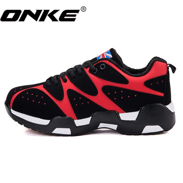 ONKE Nuevo Anuncio de La Venta Caliente marca de moda de invierno Frío de Cebra colores mezclados pu hombres zapatos casuales zapatos de terciopelo de los hombres jx007