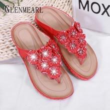 Women Slippers Summer Woman Brand Shoes Flip Flops Outdoor Slip On Rubber Sole Flat Plus Size New Arrivals DE
