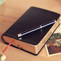 Vintage Thick Notebook Bible Diary Book Leather Notepad Stationery Office Material School Supplies ON004