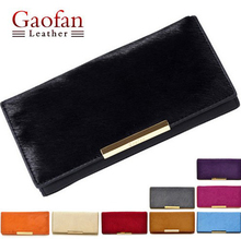 wholesale 2017 GAOFAN genuine cow horsehair lady women purse wallet bag free shipping