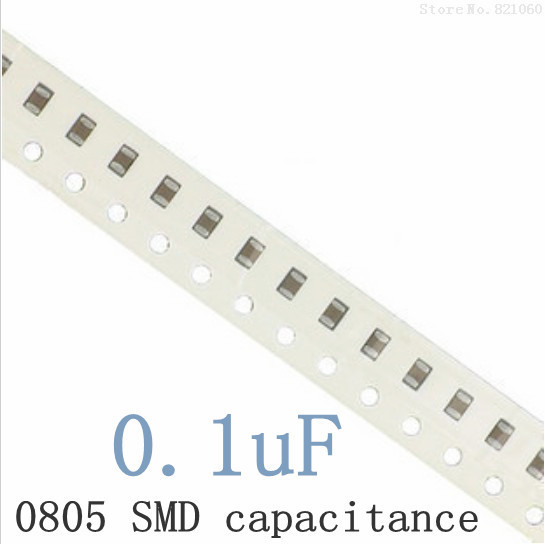 0805 0 1uf 100nf 104k 104 X7r Smd Capacitor 2012