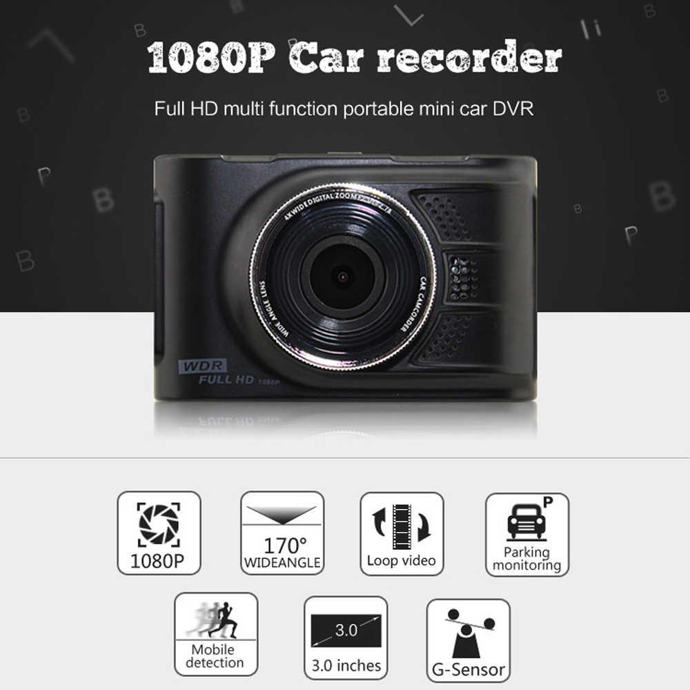 """Podofo оригинальный, novatek 96223 Автомобильный видеорегистратор камера видеорегистратор FHD 1080 P 3,0 """"регистратор видео рекордер 170 градусов WDR g-сенсор видеорегистратор"""